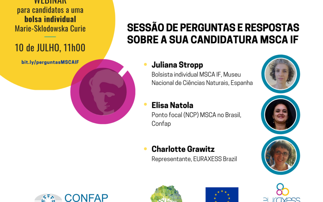 Webinar for Brazilian candidates to MSCA IF